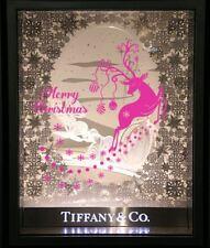 60cm / 1M Merry Christmas Reindeer Snowflake Wall Show Shop Window Sticker