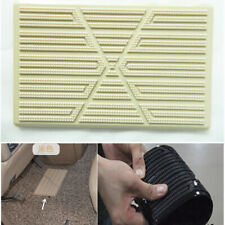 Creamy Biege Car Floor Mat Carpet Pad Scuff Step Foot Rest Pedal Plate Patch 1x