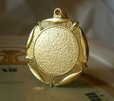 Vintage Pocket Watch Chain Fob 1950s Victorian Revival Big 12ct Gold Plated Fob