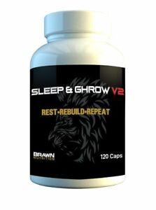 Brawn Nutrition Sleep & GHrow v2 (120 Capsules)