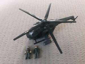 Mega Bloks Call of Duty COD 06816 Chopper Strike set - INCOMPLETE