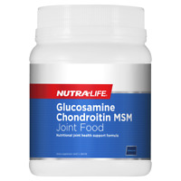 Nutra-Life Glucosamine Chondroitin MSM Joint Food 1.8KG Oral Powder NutraLife