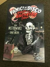 Panic at the Disco Dead of a Bachelor Tour 2017 Cardstock Promo Poster 12x18