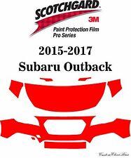 3M Scotchgard Paint Protection Film Pro Serie Fits 2015 2016 2017 Subaru Outback
