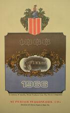 Crest Superior Woodwork Co Steves & Door Catalog ASBESTOS KAYLO Core Doors '60's