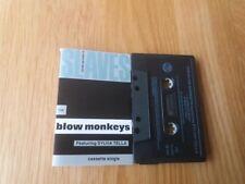 THE BLOW MONKEYS SLAVES NO MORE ( 2 TRACKS ) 1989 RAC UK EXCELLENT