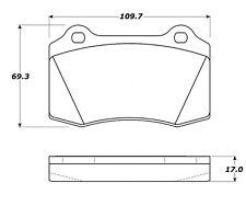 StopTech Sport Brake Pads fits 2000-2006 Ferrari 360 F430  STOPTECH