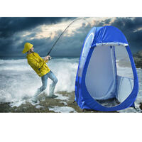 1x Single Pop-up-Tent Pod Fishing Watching Sports Camping Security High Quality