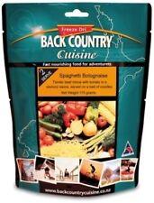 Back Country Cuisine Freeze Dried Food Spaghetti Bolognaise 2 Serve