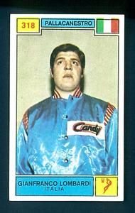 Figurina Campioni dello Sport 1969-70! N.318 Lombardi! Pallacanestro! Nuova!!