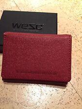 WESC Payton Unisex Canvas Wallet / Geldbeutel / Geldbörse