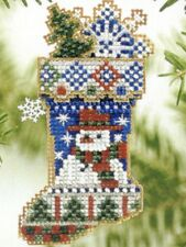 Mr Snowflake Stocking Ornament Kit Mill Hill 2004 Charmed Stockings