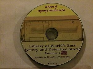 Library Of The Worlds Best Mystery Detective Stories Vol 1  - 11hrs MP3 CD