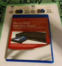 Blu-Ray & Dvd Laser Lens Cleaner Also Cd/Dvd Players Xbox Playstation
