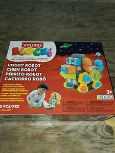 Doggy Robot Velcro Brand Blocks