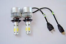 Set di 2 H7 Auto LED Lampadine per Fari 6500K NEBBIA SUPER BIANCO ALTA E BASSA Beam +501 w5w
