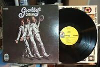 CREAM GOODBYE lp album 1st press 1969 Atco 7001 W/BADGE VG+ VINYL
