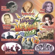 Various : Los Mejores Del Merengue 2002 CD