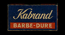 RAZOR BLADE HOJA DE AFEITAR PACCHETTO CON 5 LAMETTE DA BARBA KABRAND