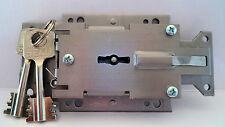 Tresorschloss / Waffenschrank Doppelbartschloss Secu S1000 mit zwei Schlüssel