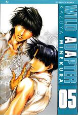 JP1088 - Manga - J-Pop - Wild Adapter 5 - Nuovo !!!