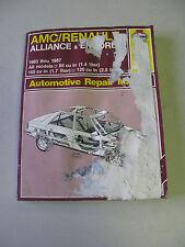 HAYNES #934 Automotive Repair Manual Book for AMC / RENAULT 1983-1987