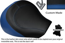 ROYAL BLUE & BLACK CUSTOM FITS SUZUKI INTRUDER VL 1500 98-04 FRONT SEAT COVER