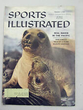 SPORTS ILLUSTRATED 1958 FEBRUARY 3 SEAL HAVEN PACIFIC MARINE LIFE ECOLOGY