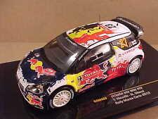 Ixo 1/43 Diecast Citroen DS3 WRC, 2012 Monte Carlo Rally, Red Bull #23  #RAM488
