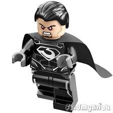 BM096c Lego Superman Black Zero Escape - General Zod Minifig with Cape 76009 NEW