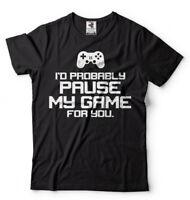 Gaming T-shirt Video Gaming Console Gaming Funny mens T-shirt Gift Birthday Tee