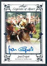 JEAN CRUGUET LIMITED EDITION HAND SIGNED HORSE RACING TRADING CARD! 10 PRODUCED!