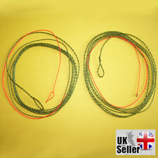 Trout Forward tapered 4 m Tenkara furled leader//line light with orange tip