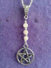 Rose Quartz Gemstone Tibetan Silver Costume Necklaces & Pendants