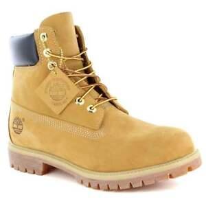 """{10061} TIMBERLAND Men's 6"""" Premium Nubuck Wheat Boots *NEW*"""