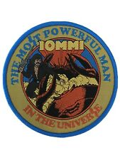 Tony Iommi Most Powerful Man In The Universe Black Sabbath Woven Patch