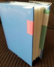 100 Book Bound Picture Photo Album (Powder Blue Festive Photos)