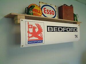 BEDFORD TK Banner Truck show Workshop Garage Retro Vintage Display