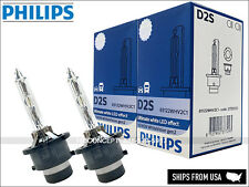 New! Authentic PHILIPS White Vision 5000K D2S HID XENON BULBS LED EFFECT GERMANY