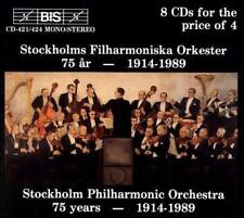 Stockholms Filharmoniska Orkester 75 Years 1914-1989 (8cd Box Set), New Music