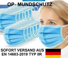 EN14683 TYPIIR Gesichtsmaske Maske Mundschutz Atemmaske Einwegmaske MNS 1-2000