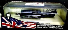 Thrust SSC Model 1st Supersonic Car Double Signed by Andy Green & Richard Noble