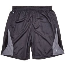 NEW RBX MEN'S BLACK MESH BASKETBALL WORKOUT SHORTS 2 SIDE POCKETS $45 3X 3XL 3XB