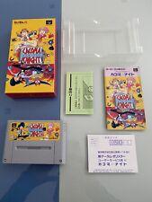 Cacoma Knight Super Famicom SFC Japan Near Mint