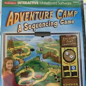 Lakeshore Learning Whiteboard Software ADVENTURE CAMP-SEQUENCING GAME Gr 1-3 New