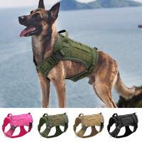 Taktisches Hundegeschirr Große militärische Hundeweste No Pull für K9 Training