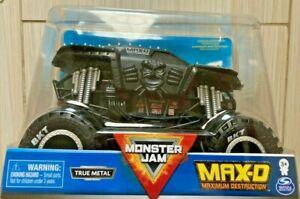 Monster Jam 1:24 Scale MAX-D MAXIMUM DESTRUCTION Black Die-Cast Monster Truck
