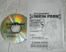 Linkin Park PTS.OF.ATHRTY Reanimation 2-Track Taiwan only Promo Video CD