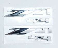 NEW BLACK 2X GMC Chevy Silverado Sierra Tahoe Suburban Z71 4x4 Emblem Badge