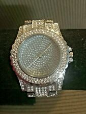 Mens Iced Bling Watch
